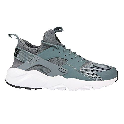 quality design 74138 450b4 Galleon - Nike Men s Air Huarache Run Ultra Cool Grey Black White Running  Shoe 11.5 Men US