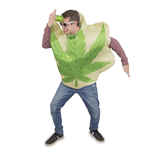 420 Halloween Costumes (Homegrown Leaf One-Size Halloween Costume - Funny Adult Unisex Mascot Suit)