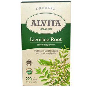 Alvita Tea Licorice Root (Alvita Licorice Root Tea Organic - 24 Tea Bags, 5 Pack)