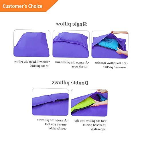 (Hebel Forbidden Portable Single Liner Silk Inner Sleeping Bag Travel Host Sheet | Model SLPNGBG - 392 | M)