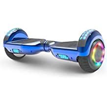 "Hoverboard Flash Wheel Two-Wheel Self Balancing Electric Scooter with Wireless Speaker 6.5"" UL 2272 Certified"