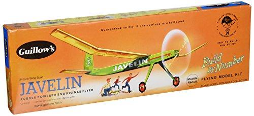 Guillow's Javelin Rubber Powered Endurance Flyer Model Kit