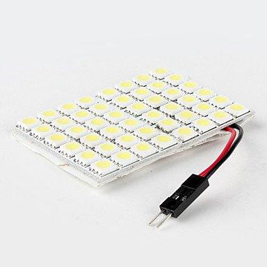 12V KK-V-4135 K-NVFA T10 6W 13x5060SMD 470LM 5500-6500K Cool White Light LED Bulb for Car