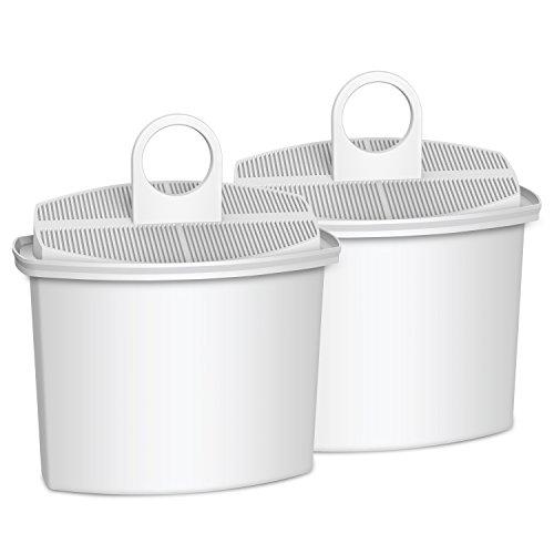 Braun Coffee Filters - AQUACREST KWF2 Replacement for Braun Brita KWF2 Coffee Water Filter(Pack of 2)