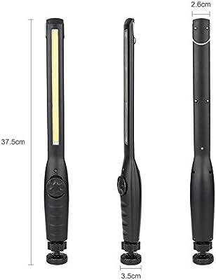 USB Rechargeable Eyeshield COB Inspection Lamp LED Slim Magnetic Work Light Lamp