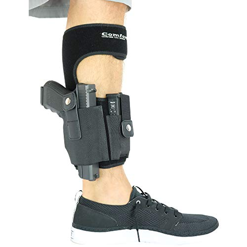 ComfortTac Ankle Holster with Calf Strap...