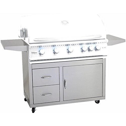 Summerset 40-inch Gas Grill Cart For Sizzler Pro Gas Grills - Cart-sizpro-40 by Summerset