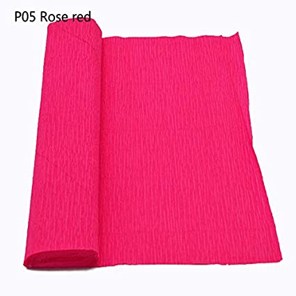 Amazon 98x98roll crepe paper streamers crepe paper for 98x98quotroll crepe paper streamers crepe paper for flower making mightylinksfo