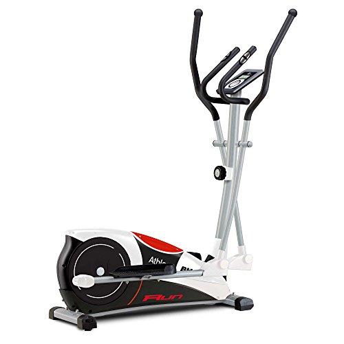 PROACTION BH Fitness Athlon Run G2334RF – Bicicleta elíptica – 10 Kg Sistema inercial – Monitor LCD – Ruedas de…