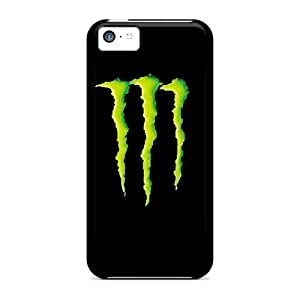 Anti-scratch And Shatterproof Monster Phone Case For Iphone 5c/ High Quality Tpu Case