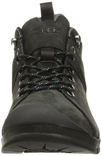 Pictures of KEEN Men's Citizen Mid Waterproof Shoe Black 8 M US 6