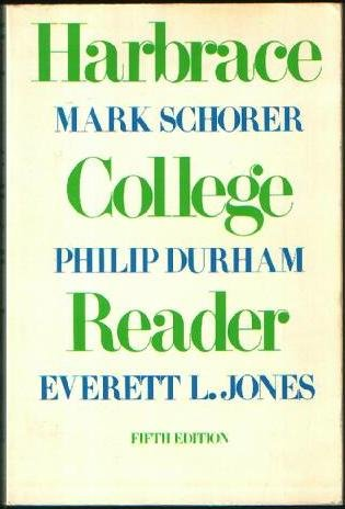 Harbrace College Reader, 5th Edition