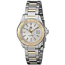 TAG Heuer Women's WAY1455.BD0922 Aquaracer Analog Display Quartz Two Tone Watch