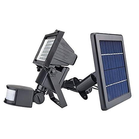 Xing Lin Solar Exterior Nuevo Jardín Luz Solar Con Sensor De Movimiento Lámpara 60 Led Panel