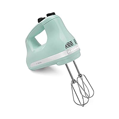 KitchenAid KHM512IC 5-Speed Ultra Power Hand Mixer, Ice
