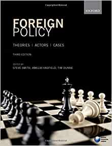 """foreign policy actors theories cases Major ir theories and the study of foreign policy analysis, with some  and  foreign policy,"""" in foreign policy: theories actors cases, ed."""