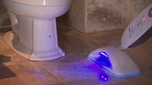 Sienna Luna Plus Steam Mop   Multi Purpose Handheld Steamer   Hardwood Floor   Tile Cleaner, 1500 Watts, 212 Degrees F, Purple