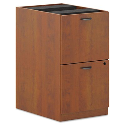 Basyx Pedestal  File File  15 5 8 By 21 3 4 By 27 3 4 Inch  Medium Cherry