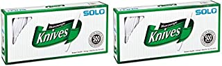 product image for Solo White Heavyweight Knives, 500 Count (2 Pack)