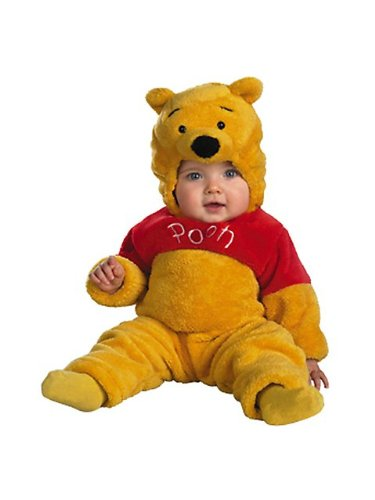 Winnie the Pooh Deluxe 2-Sided Plush Jumpsuit Costume