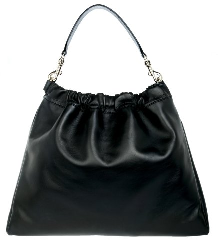 Escada Femmes Sac portes epaule Shopping bag noir ESCA-07