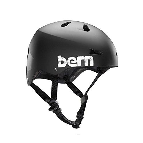 Bern Macon Summer Hard Hat, Matte Black, X-Large