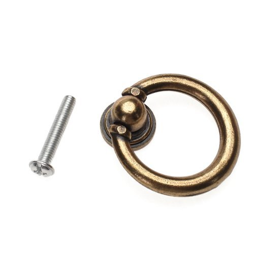 kingwin 10x Vintage Schrank Schublade Drop Ring Pull Griffe Kn/öpfe Hardware Zubeh/ör Bronze