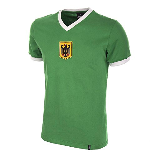 Jersey Retro 1970 (Germany Away 1970\'s Short Sleeve Retro Football Shirt)