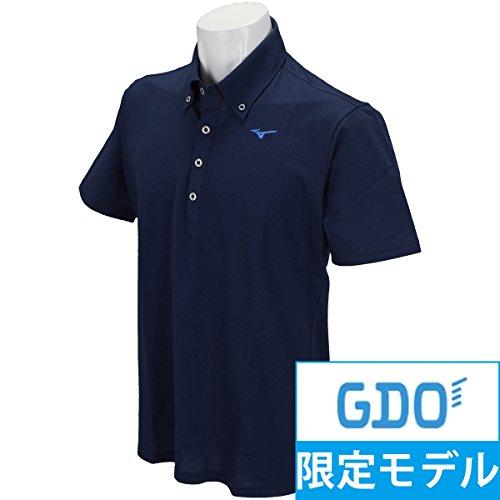 ミズノ MIZUNO 半袖シャツ?ポロシャツ 半袖ボタンダウンポロシャツ