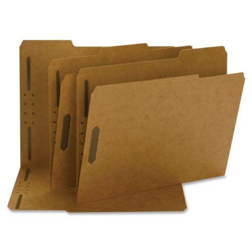 Smead Fastener File Folder, 2 Fasteners, Reinforced 1/3-Cut Tab, Letter Size, Kraft, 50 per Box (14837) (Folders Cut 1 2 File)