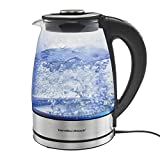 Hamilton Beach 40942 Variable Temperature Electric Kettle, 1.7L, Stainless Steel