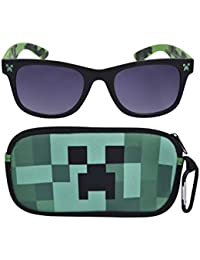 Kids Sunglasses with Kids Glasses Case, Protective Toddler Sunglasses