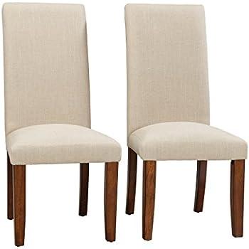 Amazon Com Sauder Carson Forge Parsons Chair 2 Pack