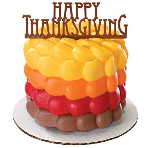 Happy Thanksgiving Cake Pick
