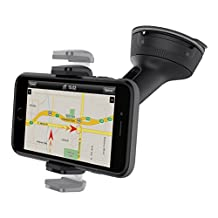 "Belkin Universal Car Window Dash Mount for 6"" Devices(F8M978bt), Black"