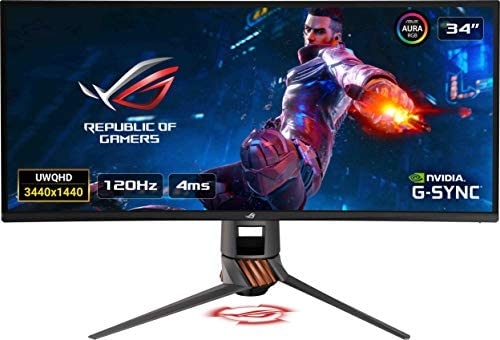ASUS ROG Swift PG349Q Monitor de Gaming ultrapanorámico, 34