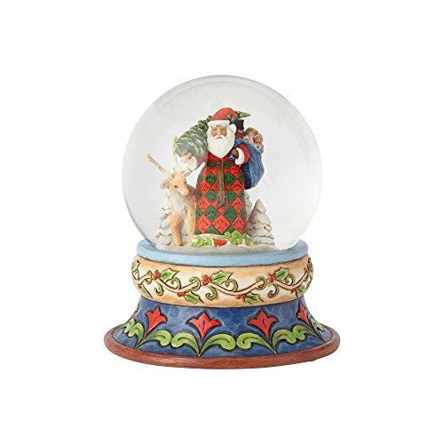 """Enesco Jim Shore Heartwood Creek """"Season of Giving 5.25"""", Snow/Globe by Enesco (Image #2)"""