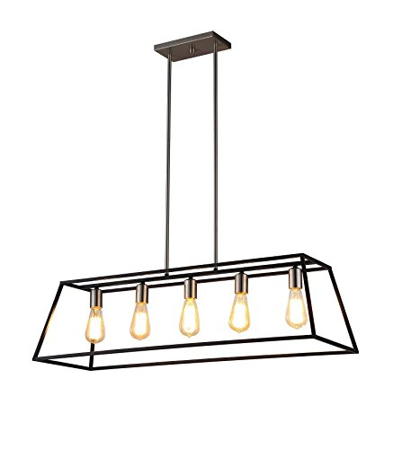 Black Globe Pendant Light in US - 4