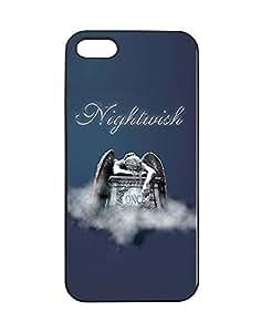 Fabulous Rock Band Image Logo Phone Fundas/Case - Iphone 5/5s Fundas/Case Nightwish Band Logo for Woman , Slim Iphone 5/5s Phone Fundas/Case Logo Design Quotes