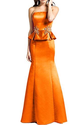 Missdressy - Vestido - Estuche - para mujer naranja