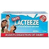 Lactase Enzyme Lacteeze Drops 15.5 ml Liquid by