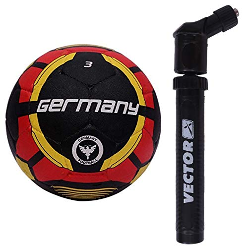 Vector X Germany Rubber Moulded Football, Size 3