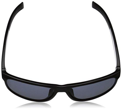 adidas Womens sprung a429 6064 Round Sunglasses, Black Shiny, 60 MM