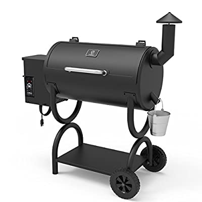 Z GRILLS Wood Pellet Grill and Smoker 2019 New Model Ourdoor BBQ Grill with Patio Cover …