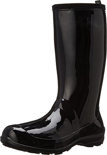 Kamik Women's Heidi Rain Boot,Black/Noir,8 M US ()