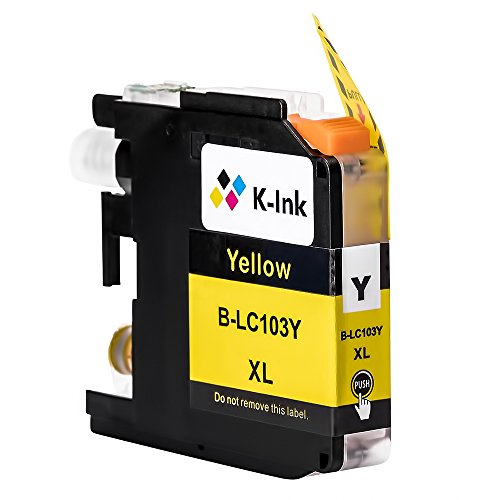 K-Ink Compatible Ink Cartridge Replacement for Brother LC103 LC 103XL 101XL LC101 (10 Pack) Photo #4