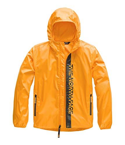 (The North Face Kids Boy's Flurry Wind Hoodie (Little Kids/Big Kids) Zinnia Orange Large)