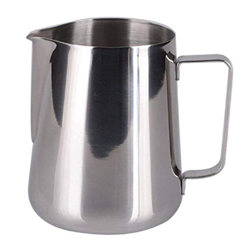 SHAFIRE 350ml Kitchen Stainless Steel Craft Coffee cappuccinos Milk Latte Jug Cup Frothing (Silvery) Price & Reviews