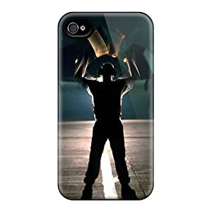 First-class Case Cover For Iphone 4/4s Dual Protection Cover Night Hawk F 117