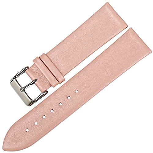 Nueva Correa de Reloj de Color púrpura desinge 16 18 19 20 22 mm para Mujer Correa de Reloj de Cuero Genuino Accesorios para Correas de Reloj Casio: ...
